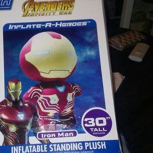 Iron Man Inflatable Plush